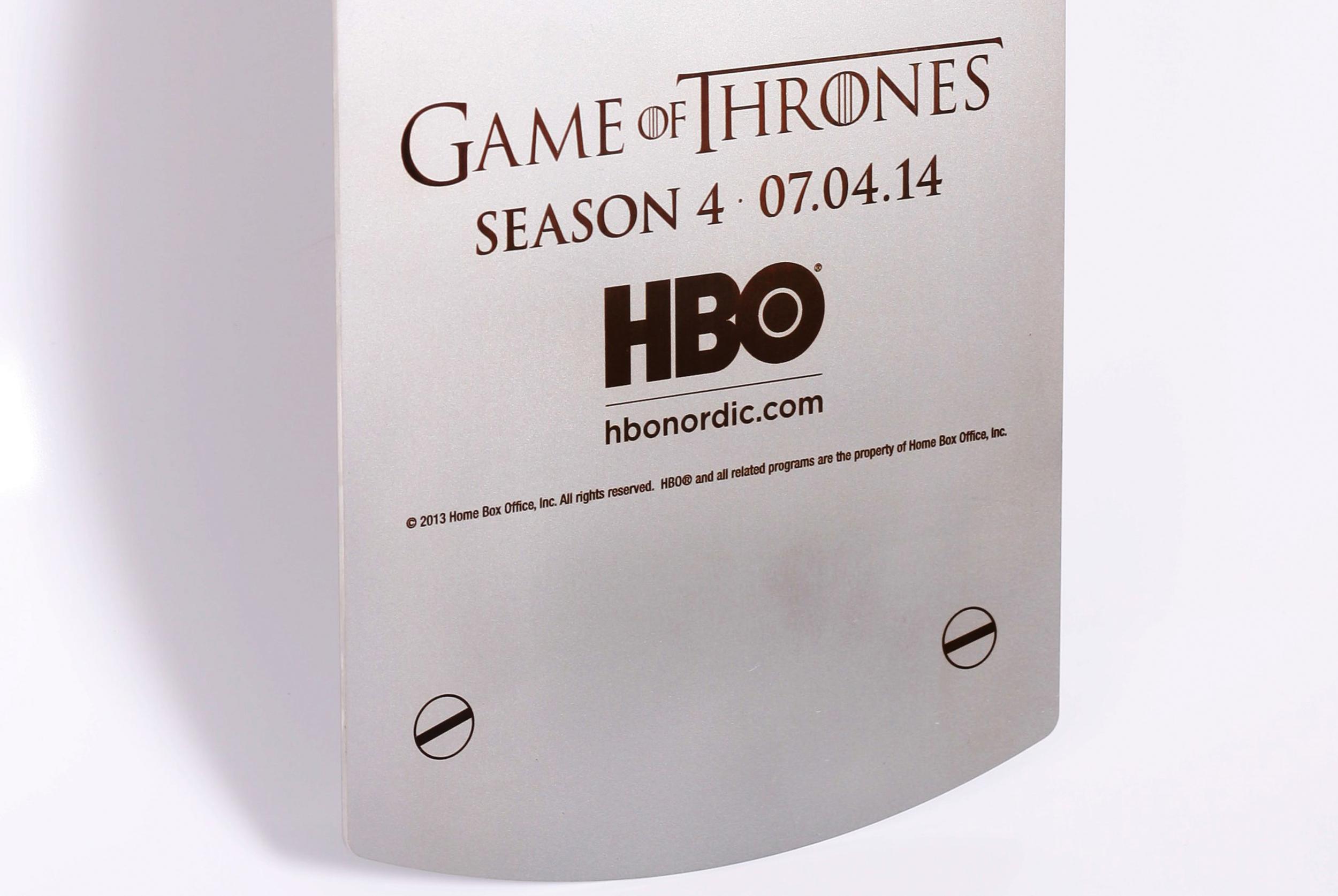 Laserengraving HBO