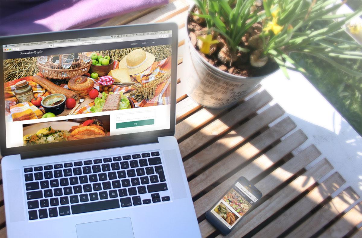 Website og App design