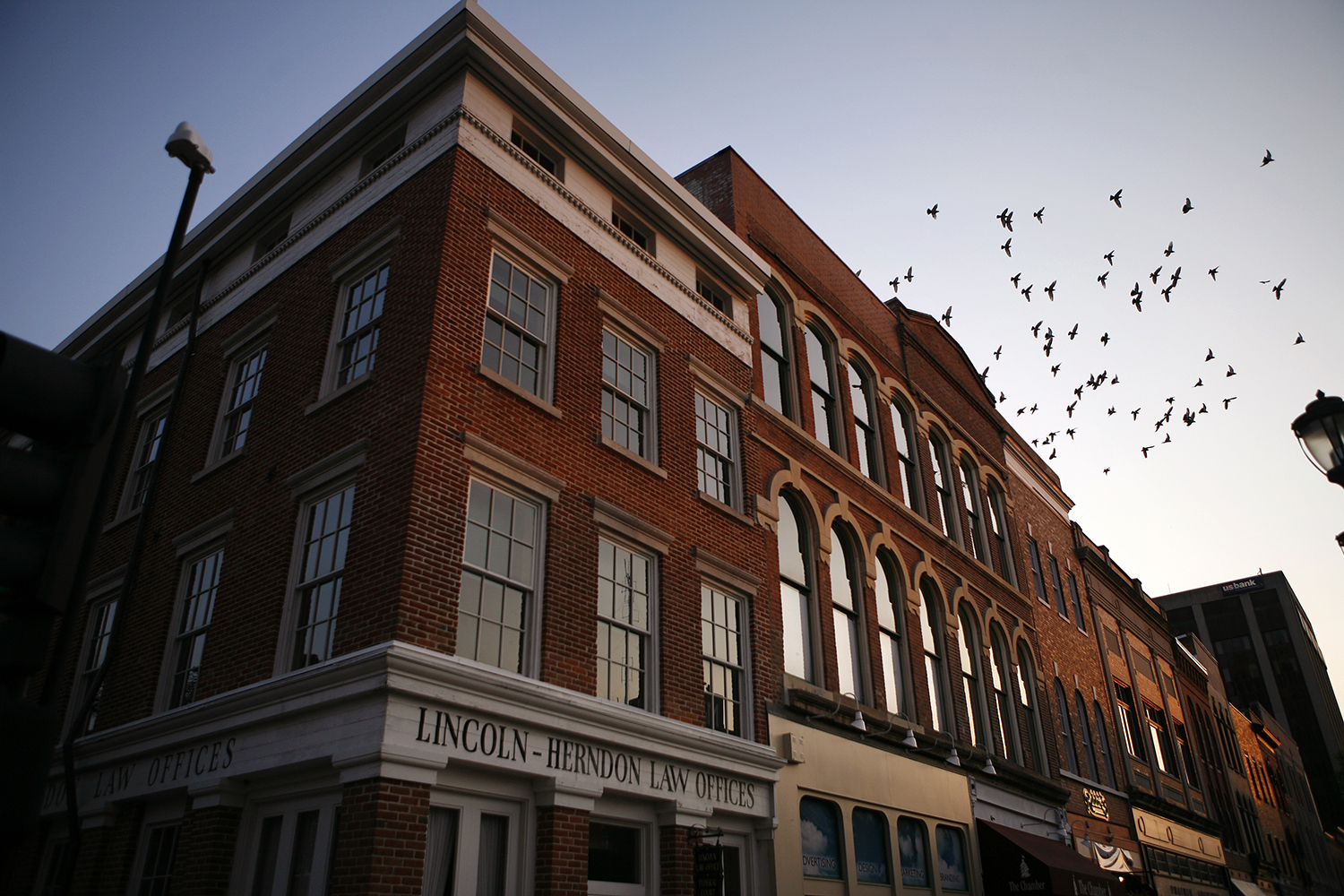 The Lincoln-Herndon Law Offices are on the third floor of a former dry goods business, located on the south side of the public square in downtown Springfield. Rich Saal/The State Journal-Register