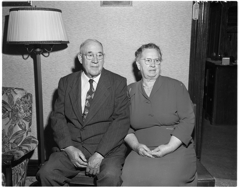 Anniversary portrait, May 27, 1954.