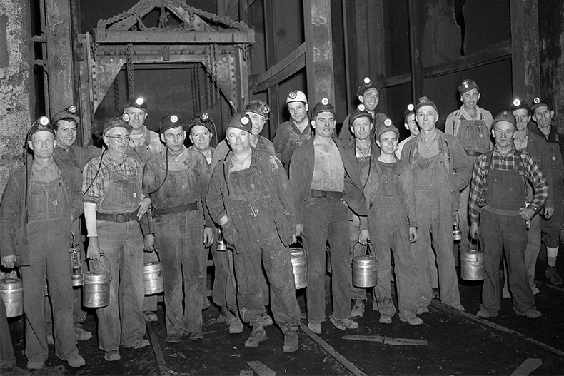 Miners Go Back to Work