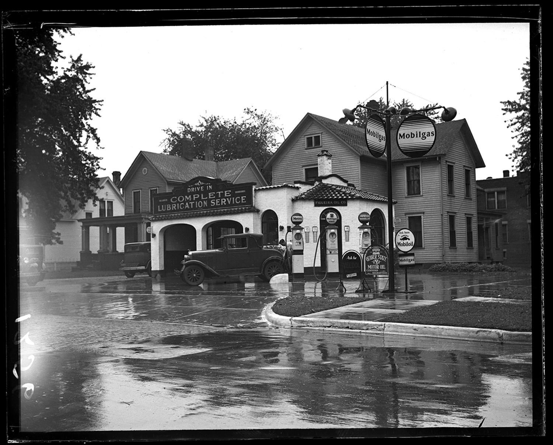 Figueira Oil Co., Mobile gasoline/service station, circa 1930. File/The State Journal-Register