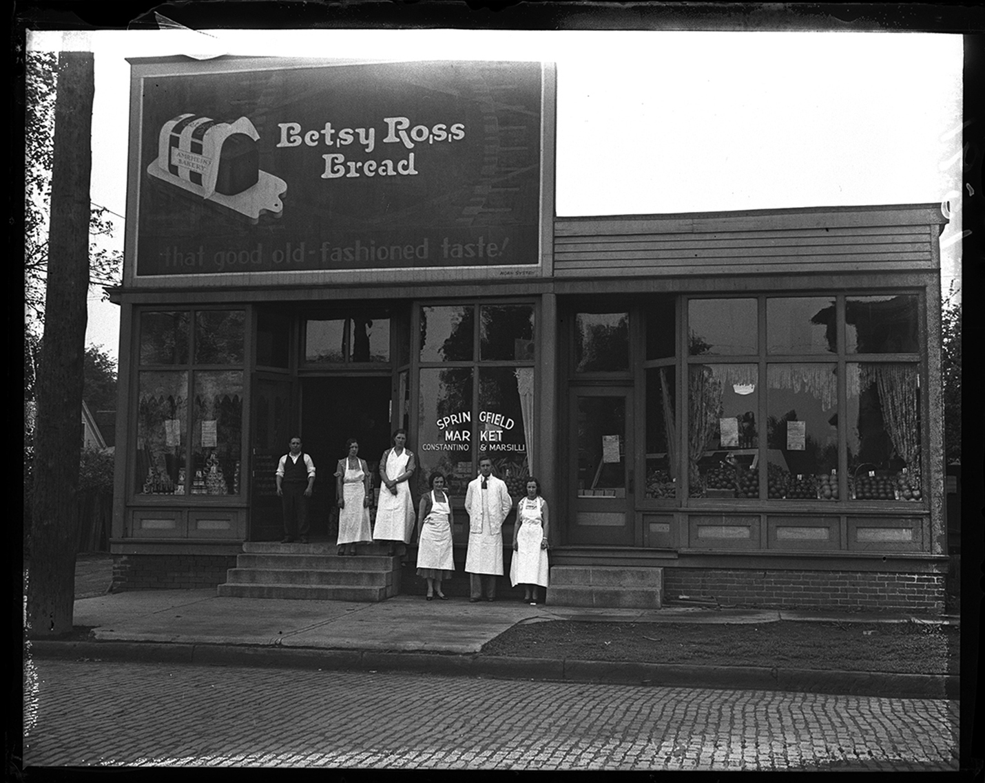 Springfield Market (Constantino and Marsilli), Seventh and Washington streets, circa 1930. File/The State Journal-Register