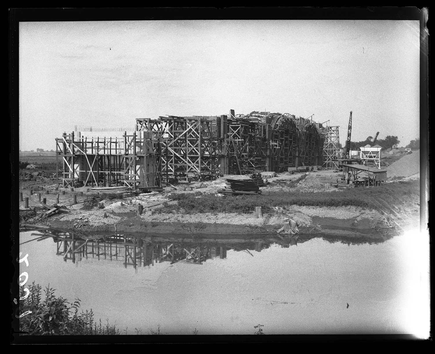 Construction of Lindsay Bridge at Lake Springfield, circa 1934. File/The State Journal-Register