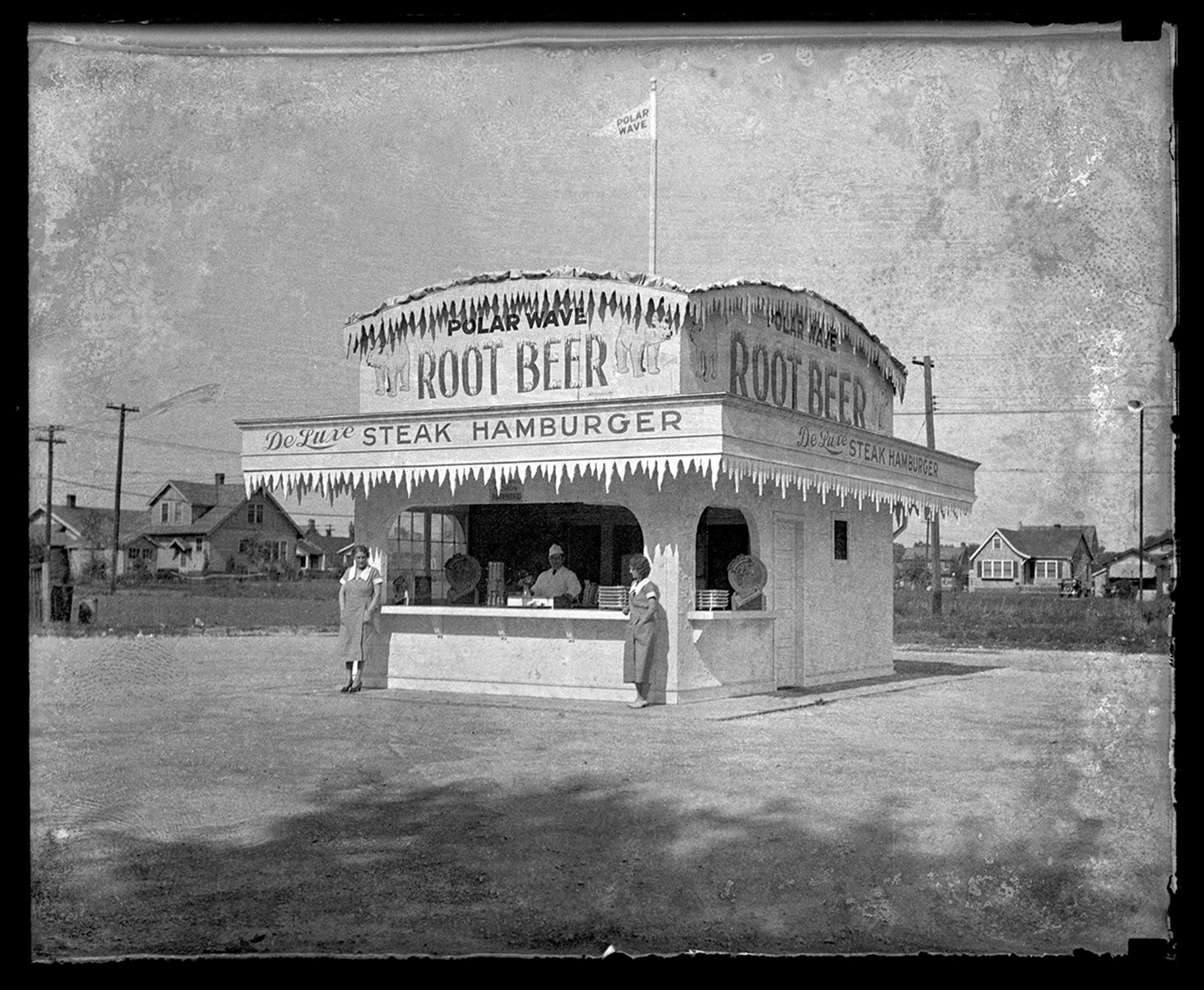 Polar Wave root beer and sandwich stand, 2008 West Grand Avenue South (now MacArthur Boulevard), date unknown. File/The State Journal-Register