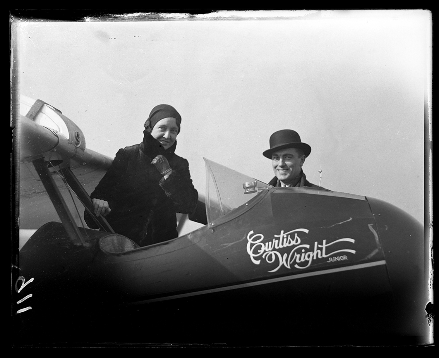 Mrs. W. F. Sherman flies Curtis Wright Jr. airplane after only 20 minutes of instruction, Feb. 24, 1931. File/The State Journal-Register