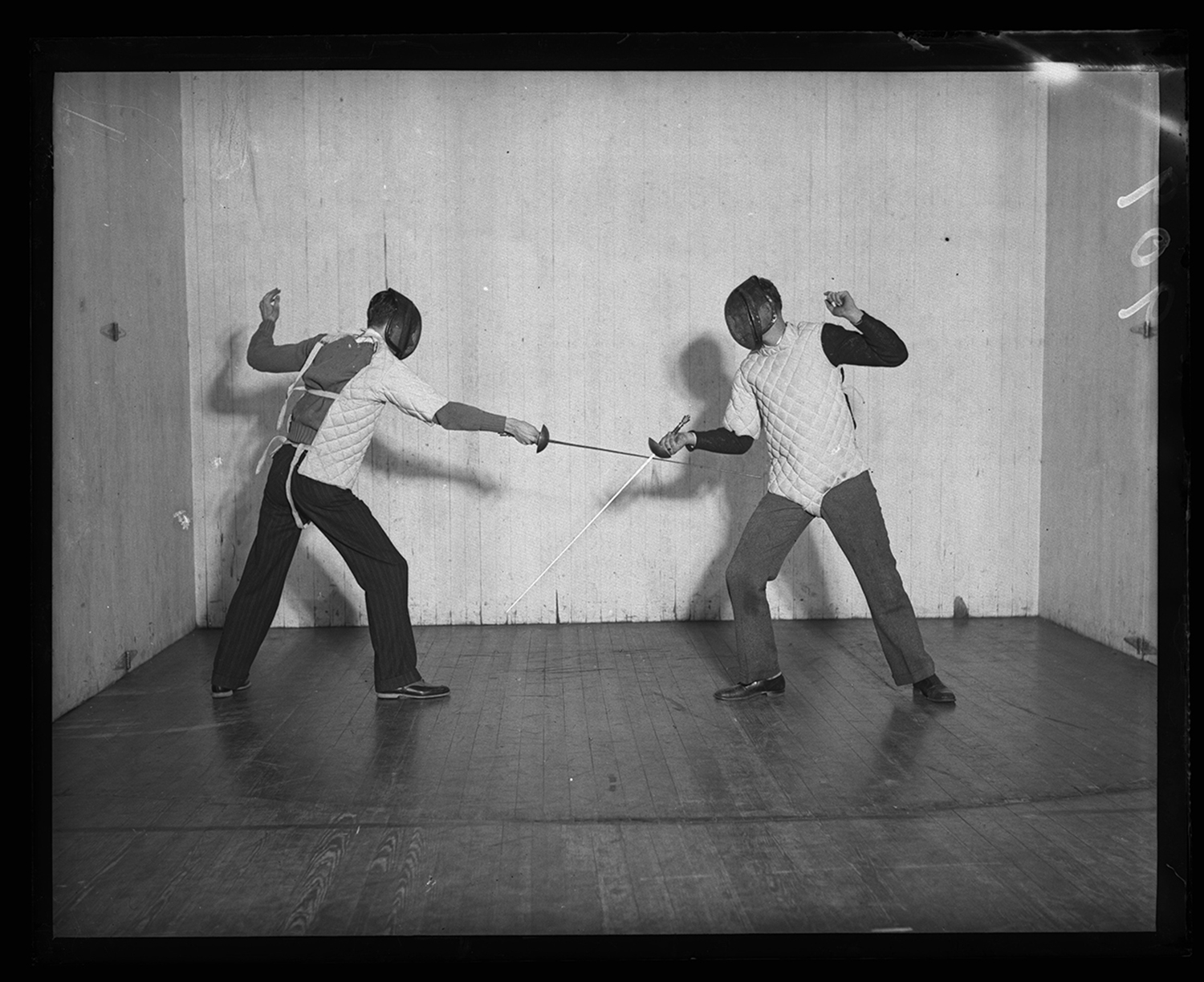 Y.M.C.A. fencing class, Feb. 27. 1931. File/The State Journal-Register