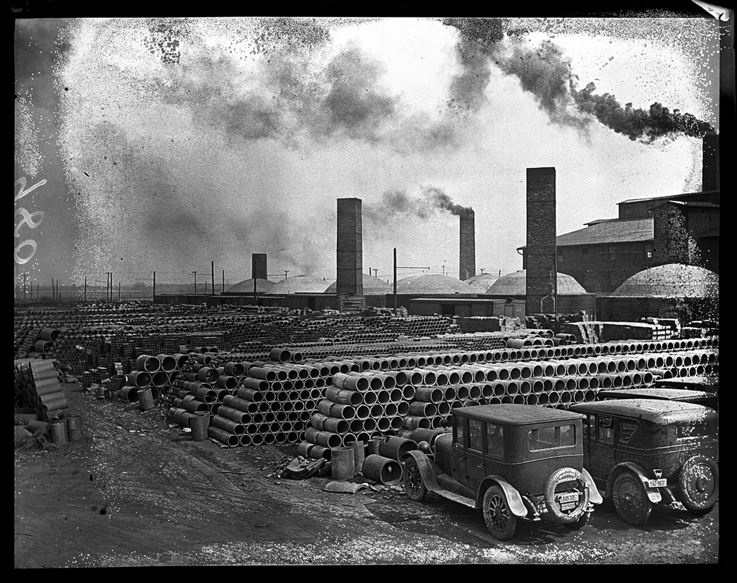 Springfield Clay Products Company located on Fox Road. Photo used in advertisement Oct. 11, 1930. File/The State Journal-Register