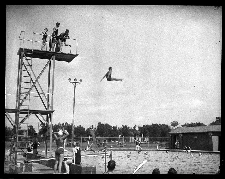 Memorial Pool, June 23, 1929. File/The State Journal-Register