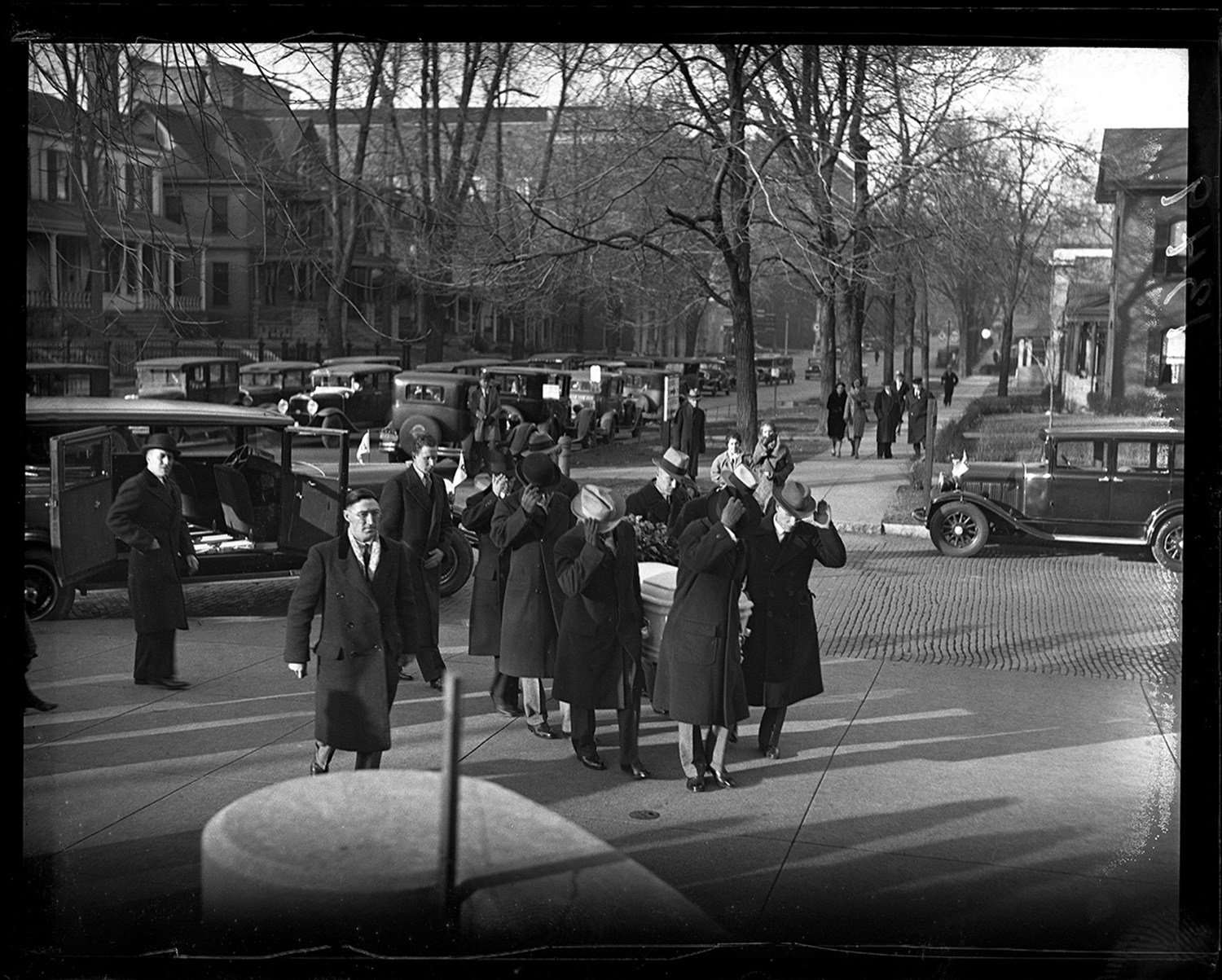 Funeral for poet Vachel Lindsay at First Christian Church, Sixth and Cook streets, Dec. 8, 1931. File/The State Journal-Register