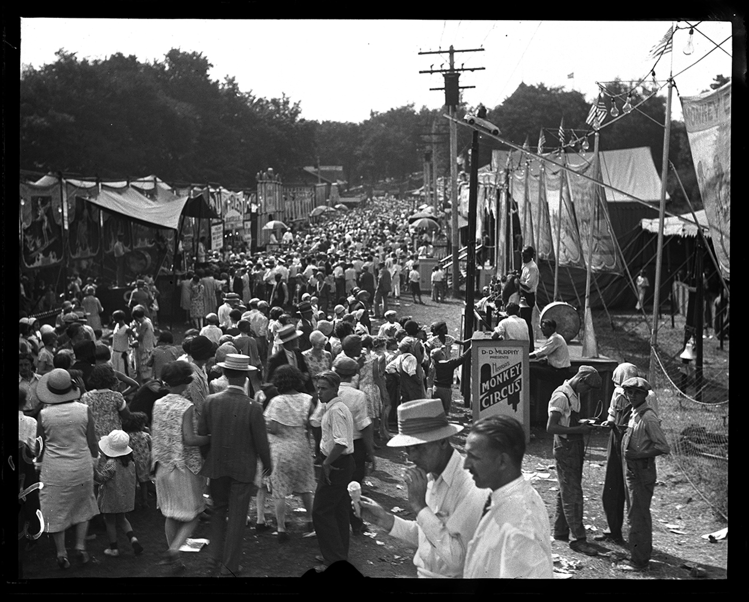 Illinois State Fair carnival, ca. 1932. File/The State Journal-Register