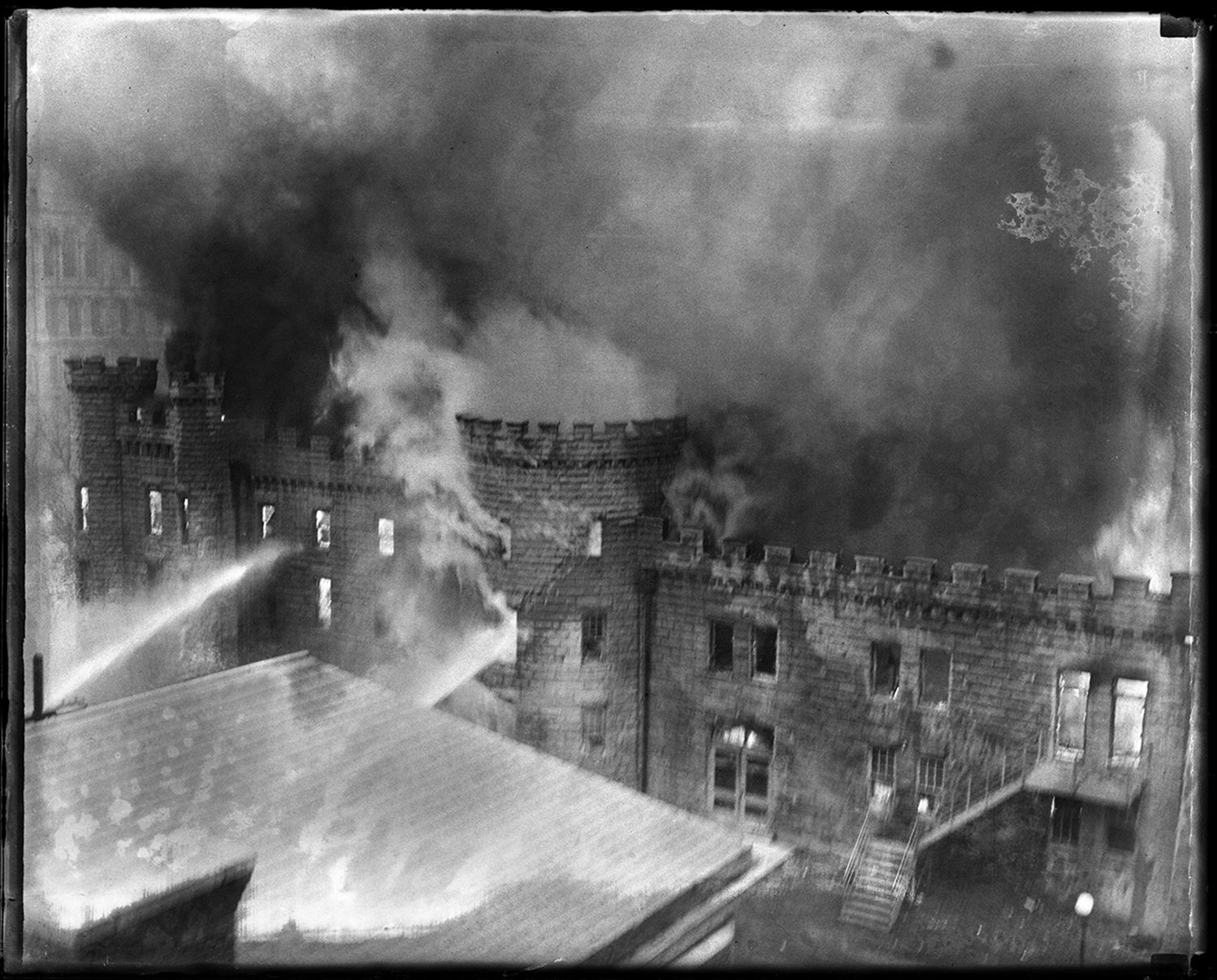 Illinois State Arsenal fire, Feb. 18, 1934. File/The State Journal-Register