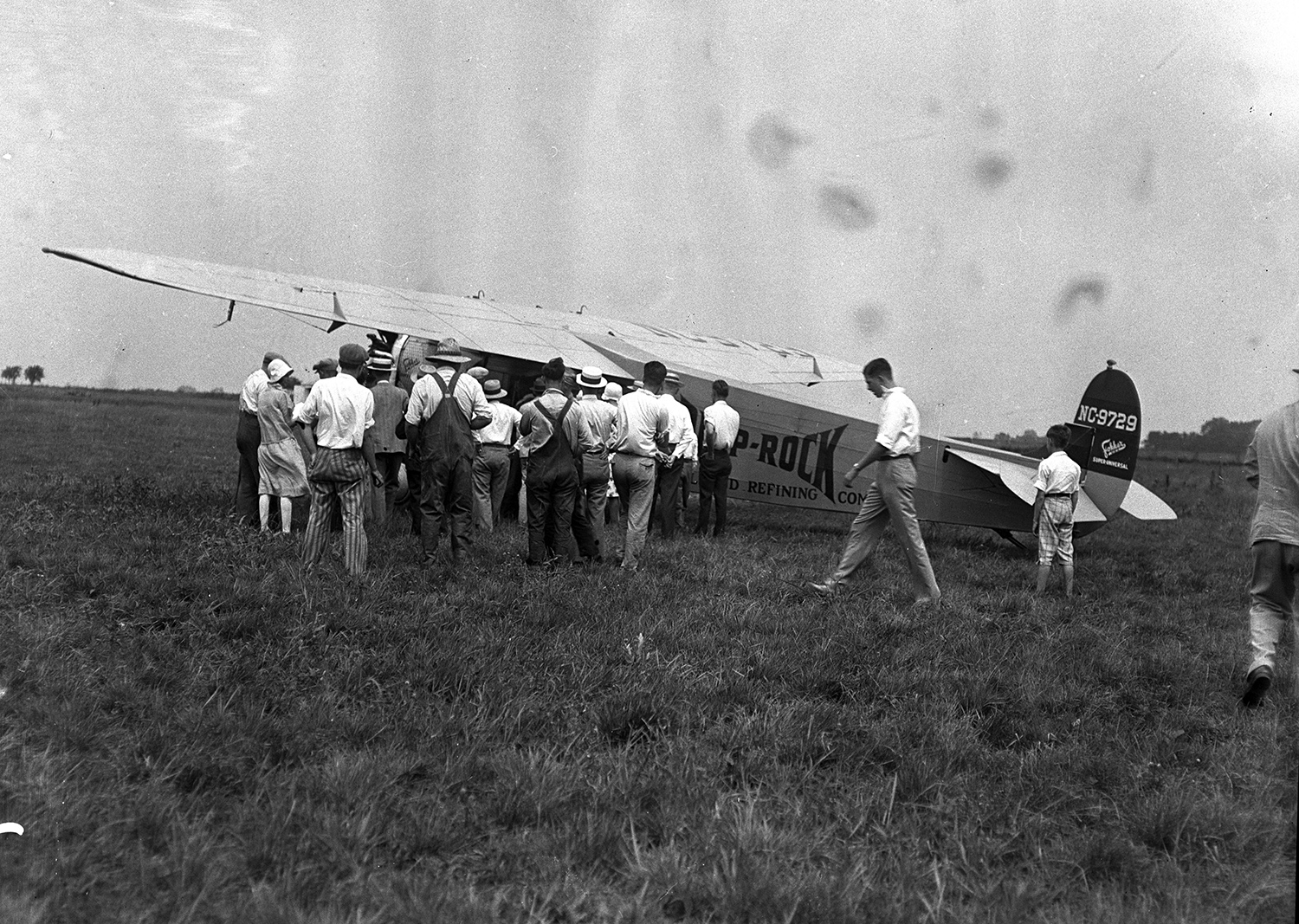 Deep Rock Refining Company airplane, municipal airport July 27, 1929. File/The State Journal-Register