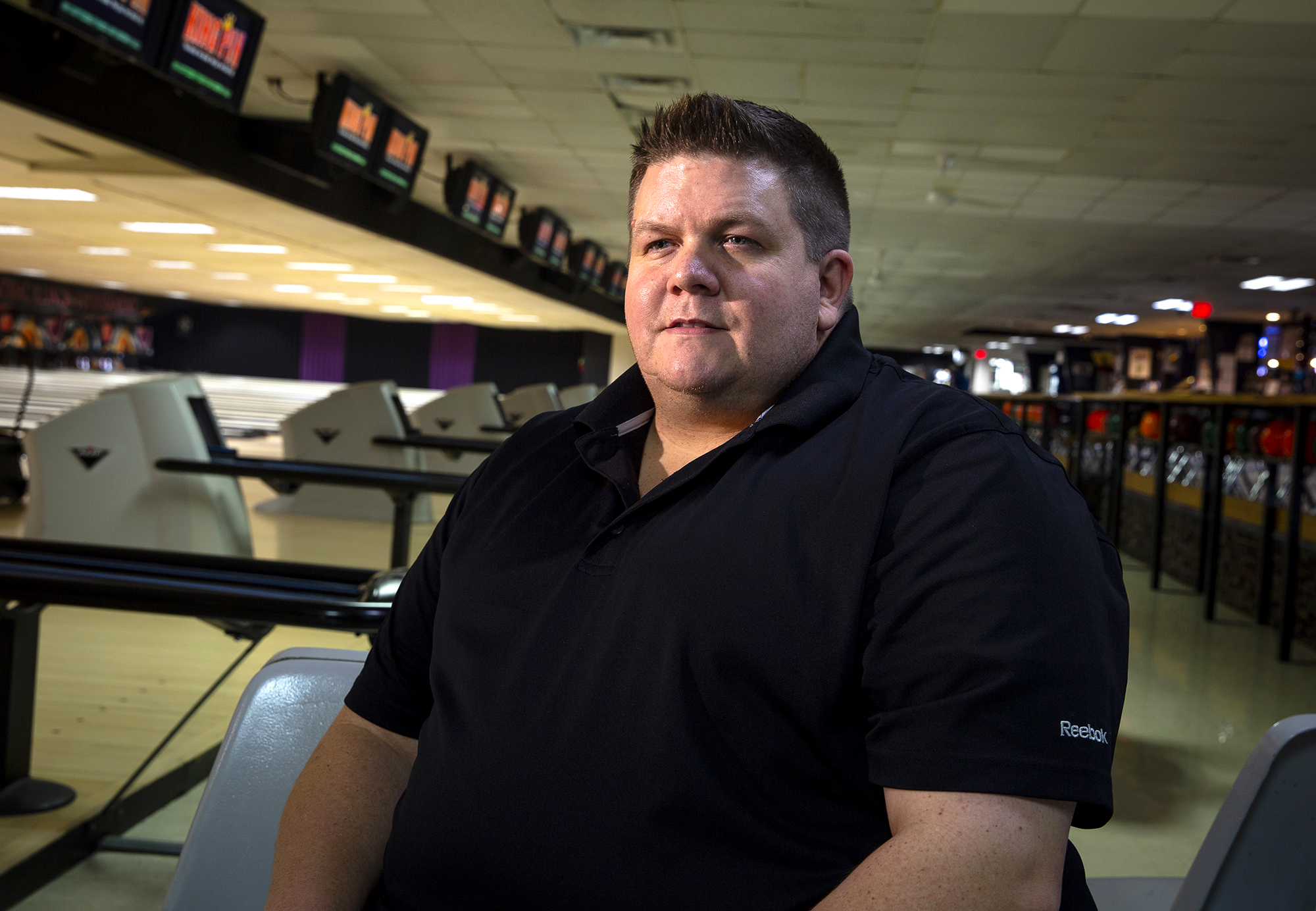 Bob Cole will be inducted into the Springfield Bowling Hall of Fame during a ceremony tonight at Northfield Inn Conference Center. His father, Al, who Bob bowled with often, will be inducted posthumously. Al Cole was killed in December as he tried to intervene in a physical confrontation between Andrew J. Brady and a woman.Bob Cole was photographed Thursday, Oct. 11, 2018 at King Pin Lanes in Springfield, Ill. [Rich Saal/The State Journal-Register]