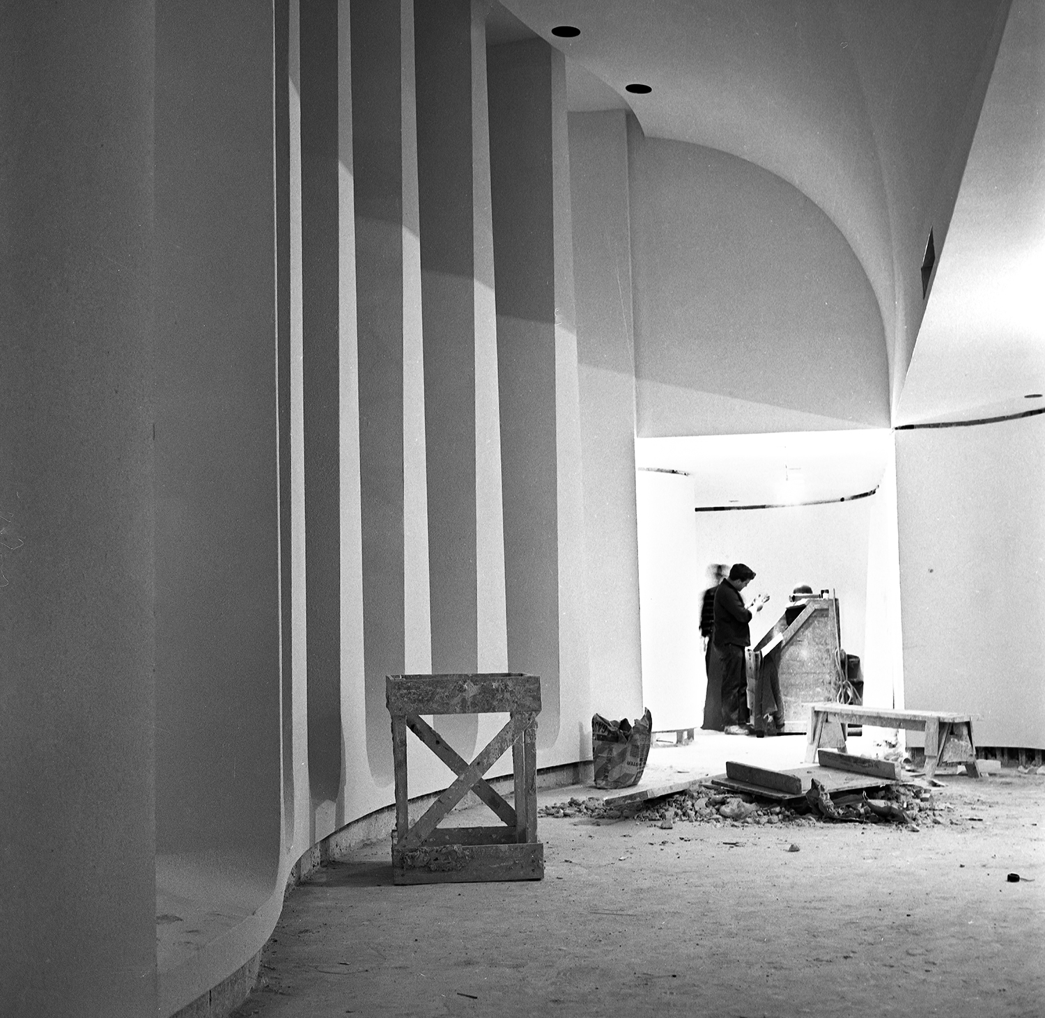 Old State Capitol State Historic Site preparations in the Illinois State Historical Library before official opening ceremony on Dec. 3, 1968. Photographed Dec. 2, 1968. File/The State Journal-Register