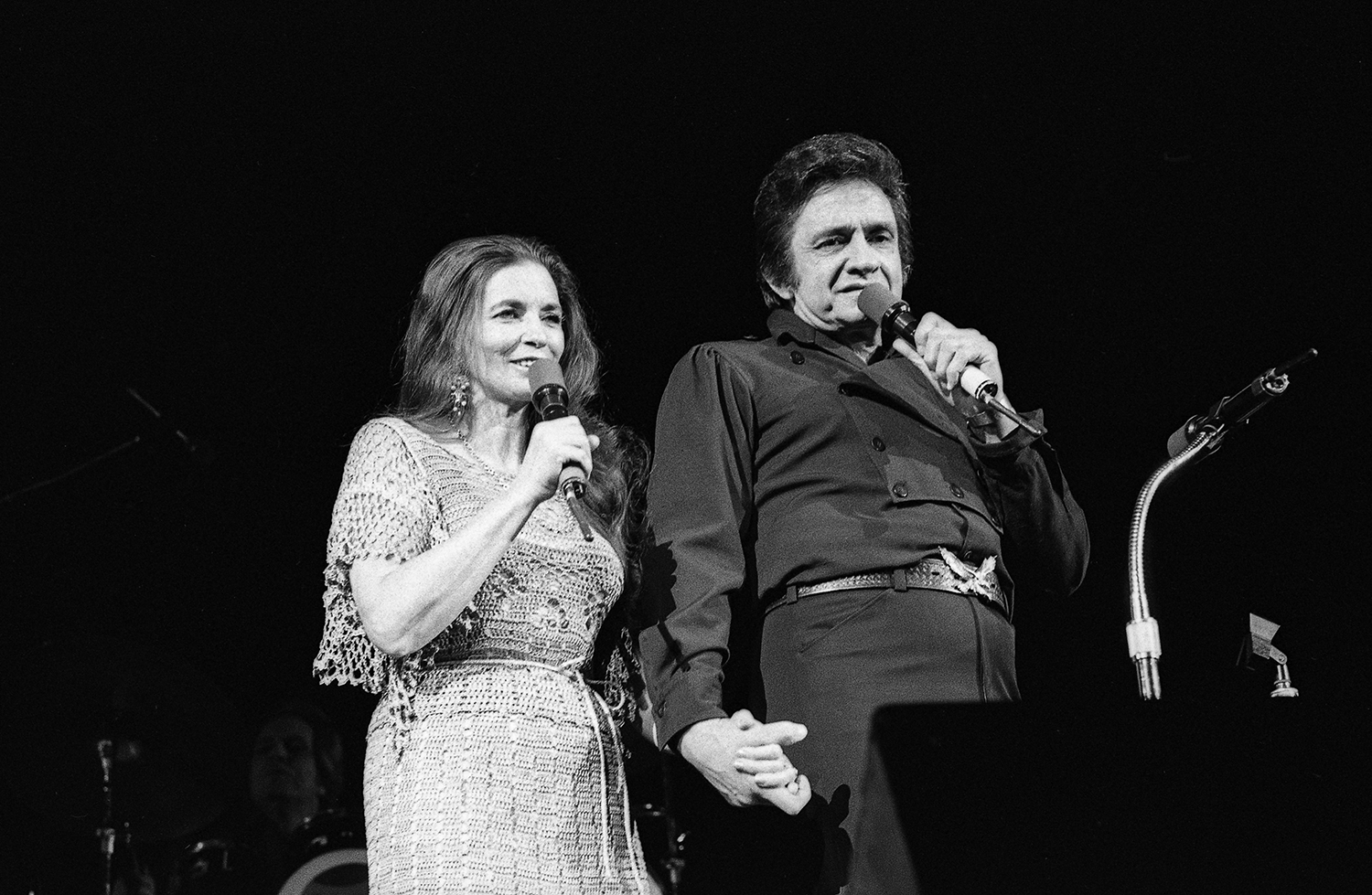 Johnny Cash and June Carter Cash in concert at the Prairie Capital Convention Center February 3, 1980. File/David Klobucar/The State Journal-Register