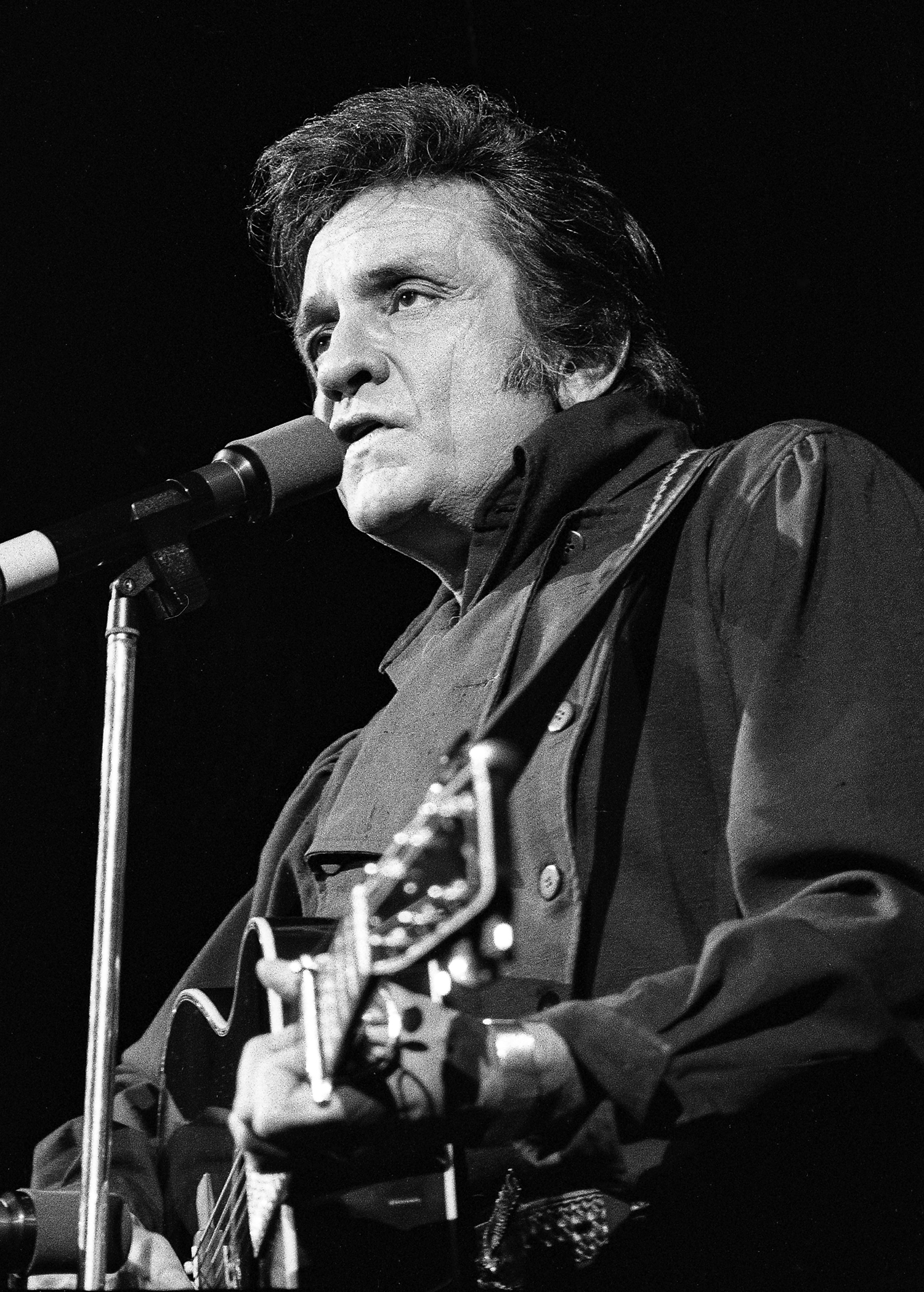 Johnny Cash in concert at the Prairie Capital Convention Center February 3, 1980. File/David Klobucar/The State Journal-Register