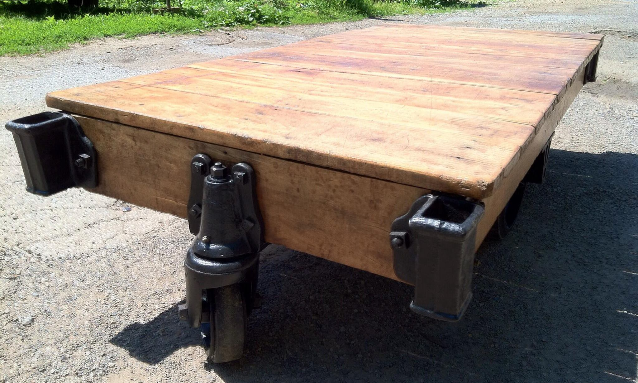 Nutting Cart Coffee Table