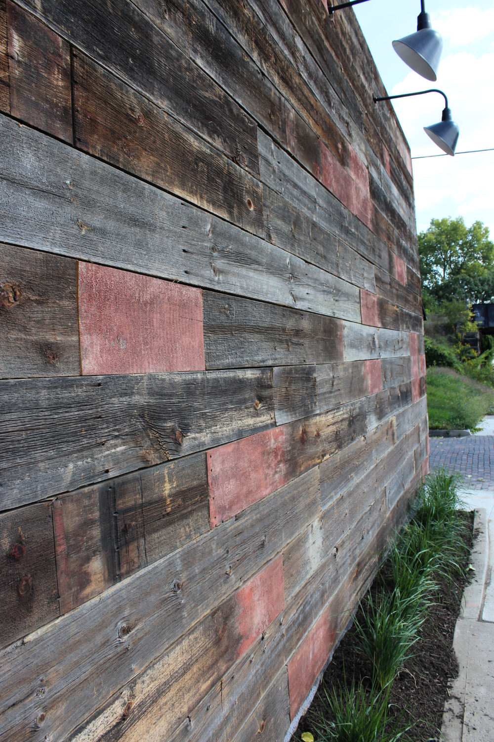 Barn Wood Wall - Exterior