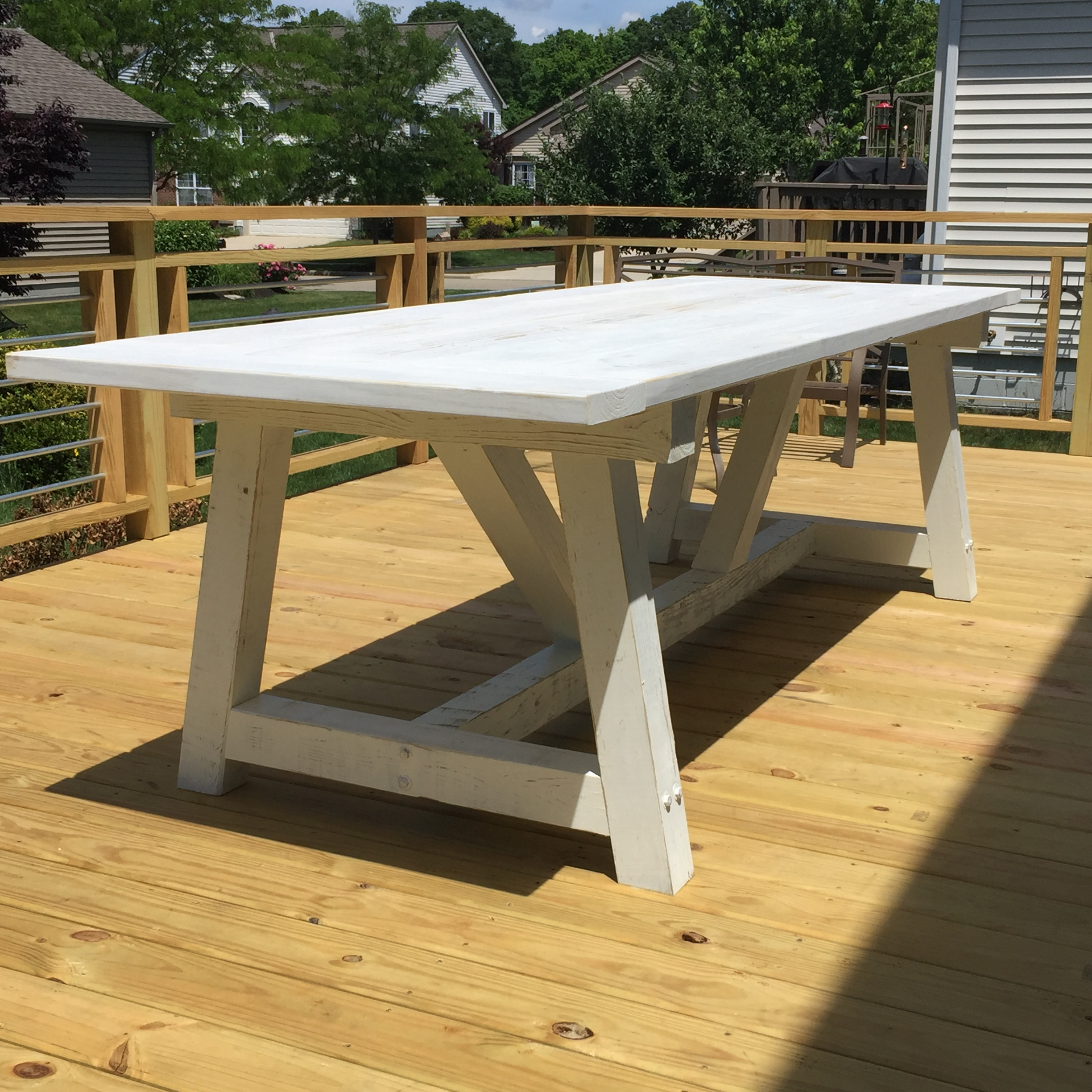Outdoor Farmhouse Table