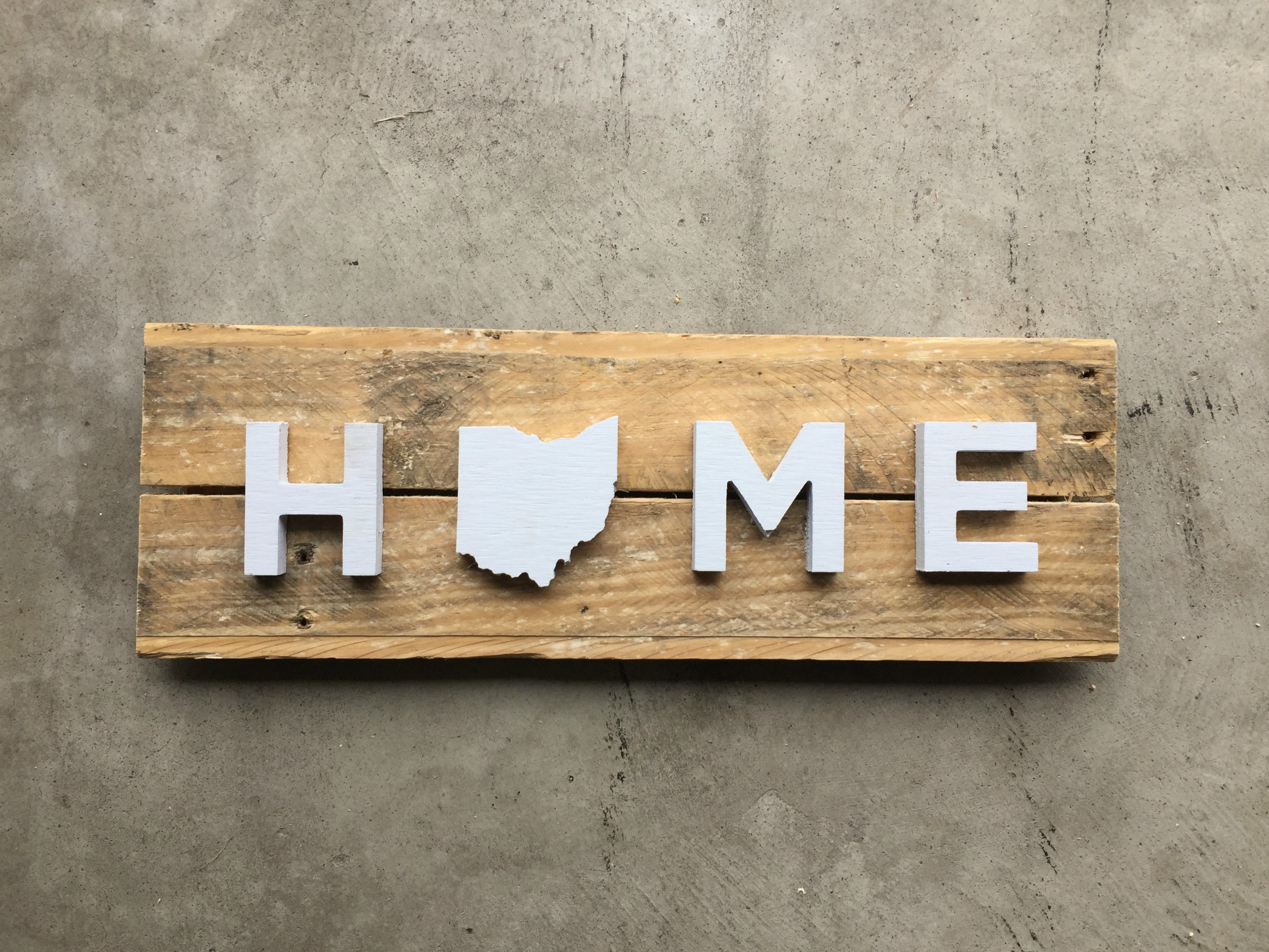 Home Sign - wall art
