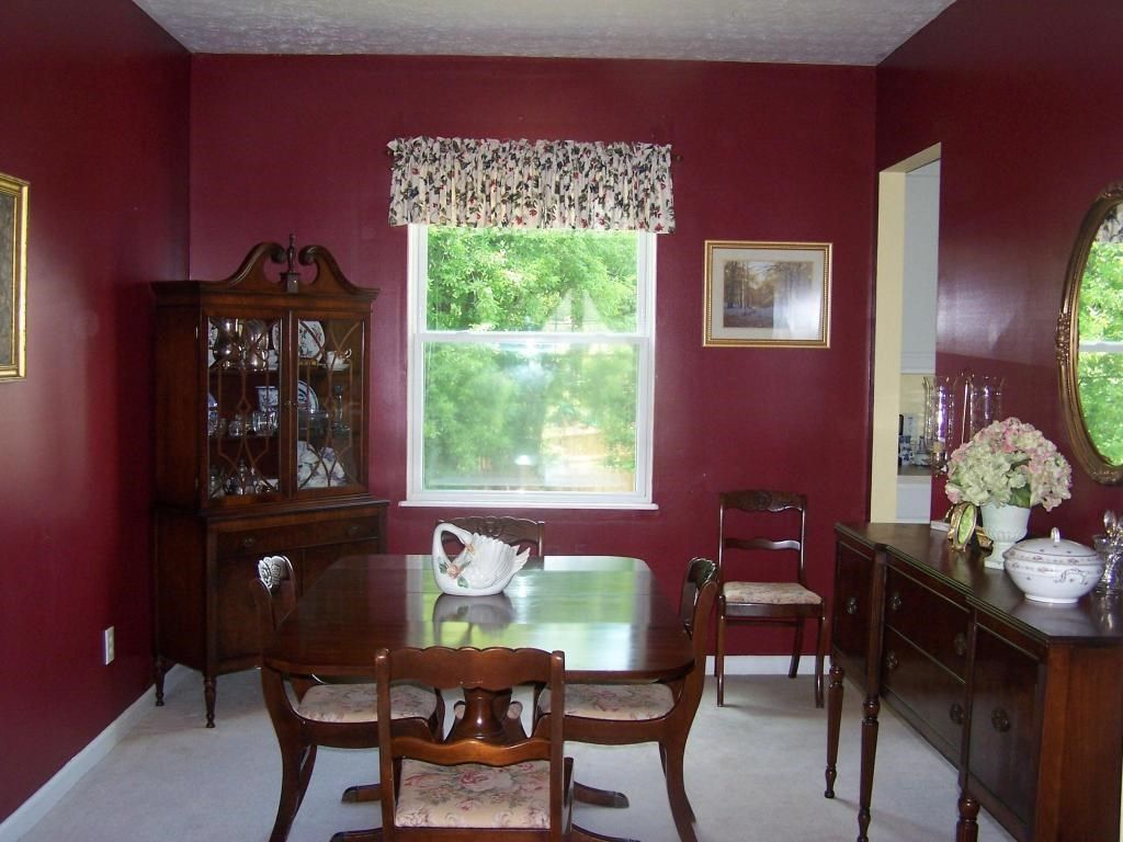 Previous Owners Formal Dining Room