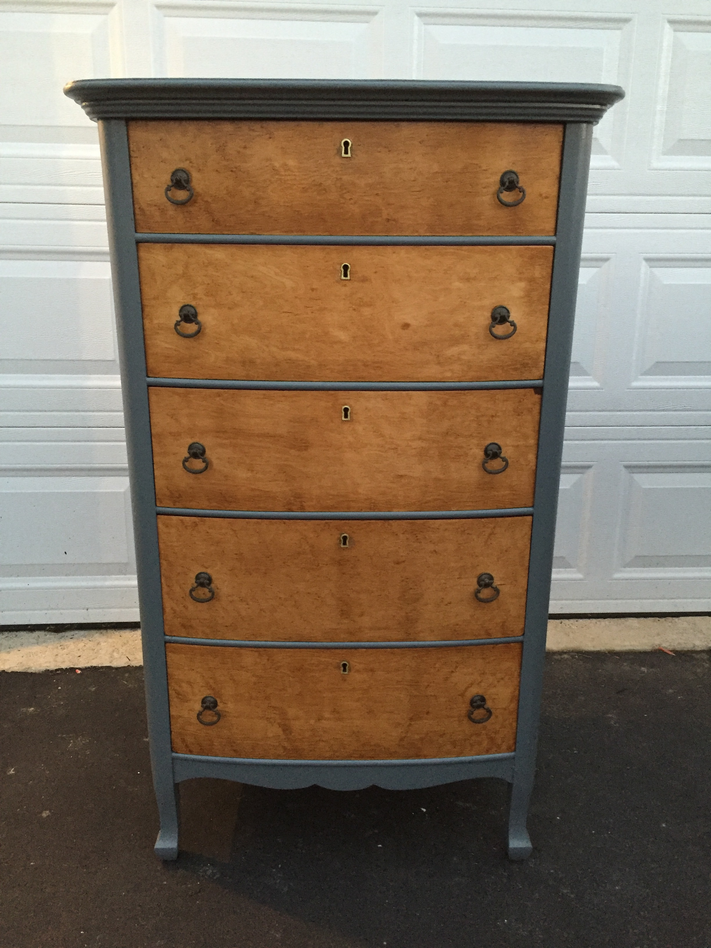 Antique dresser restoration - after