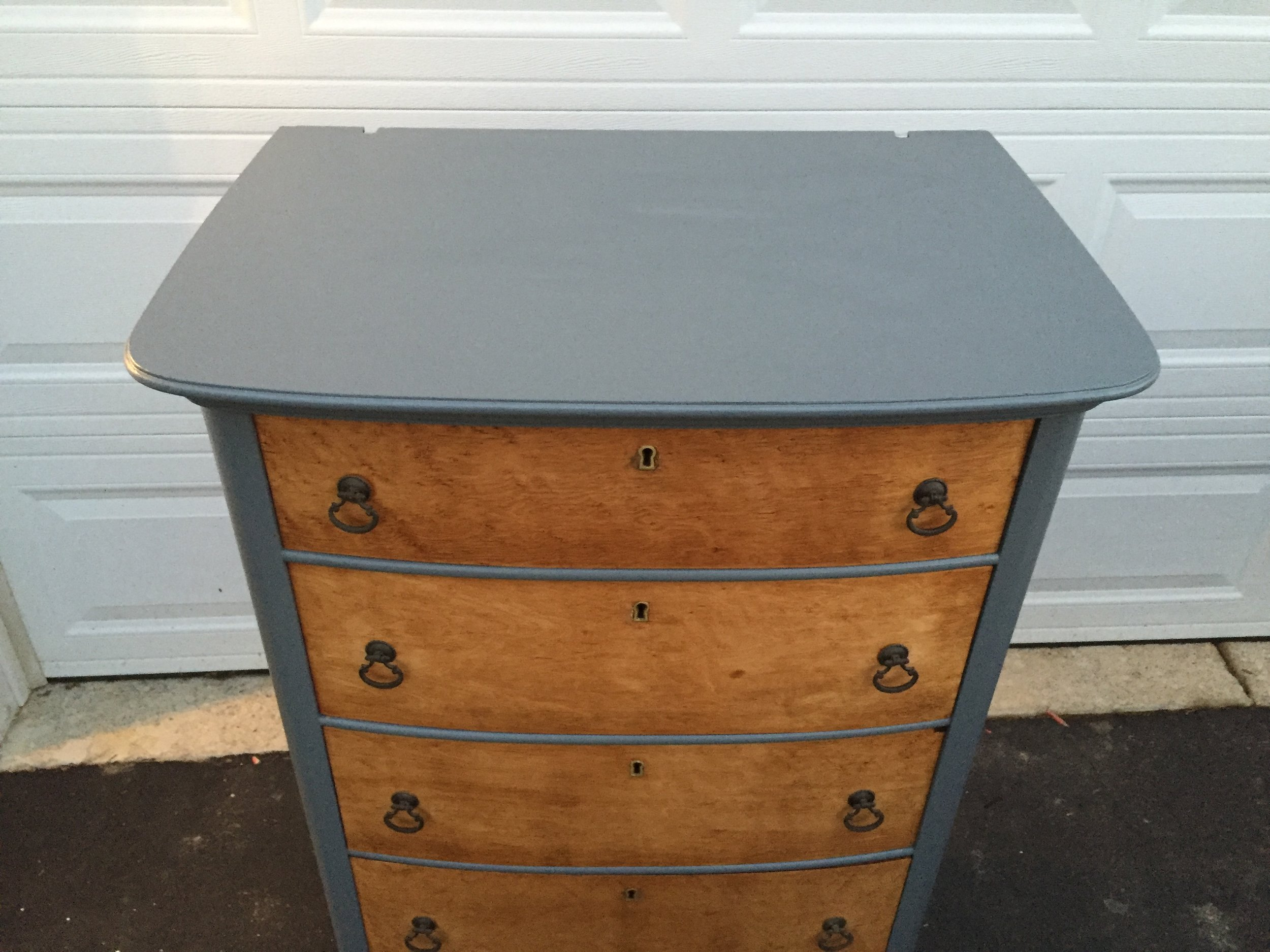how to makeover an antique dresser