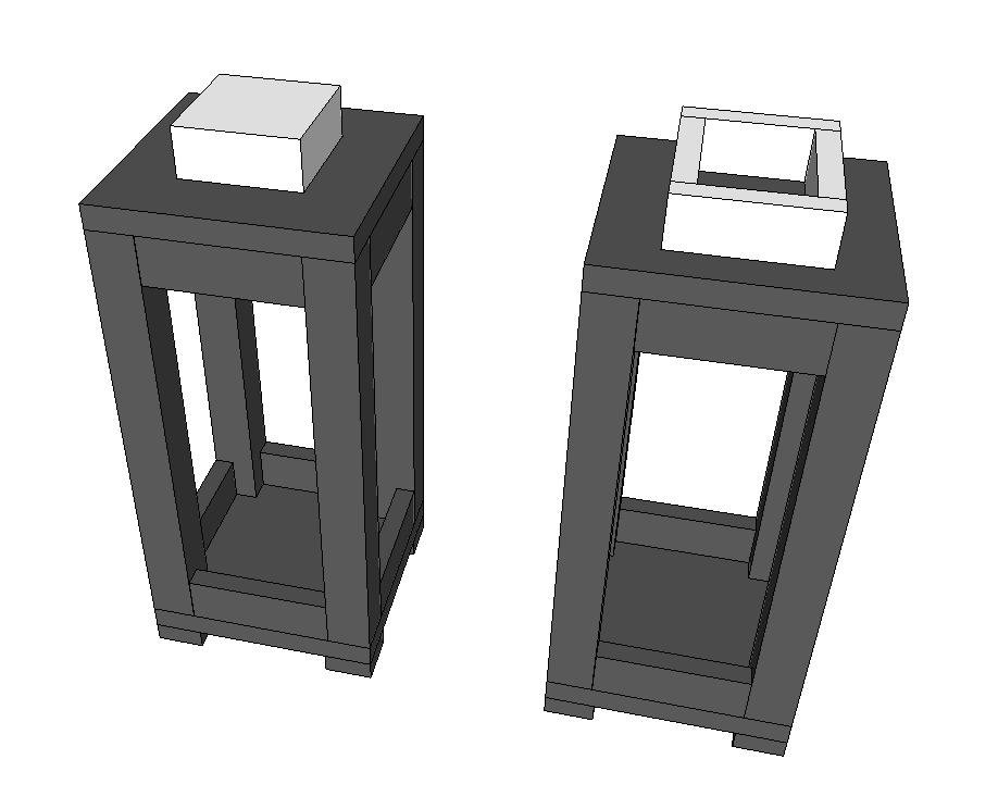 Step 5 - Add the Lantern top