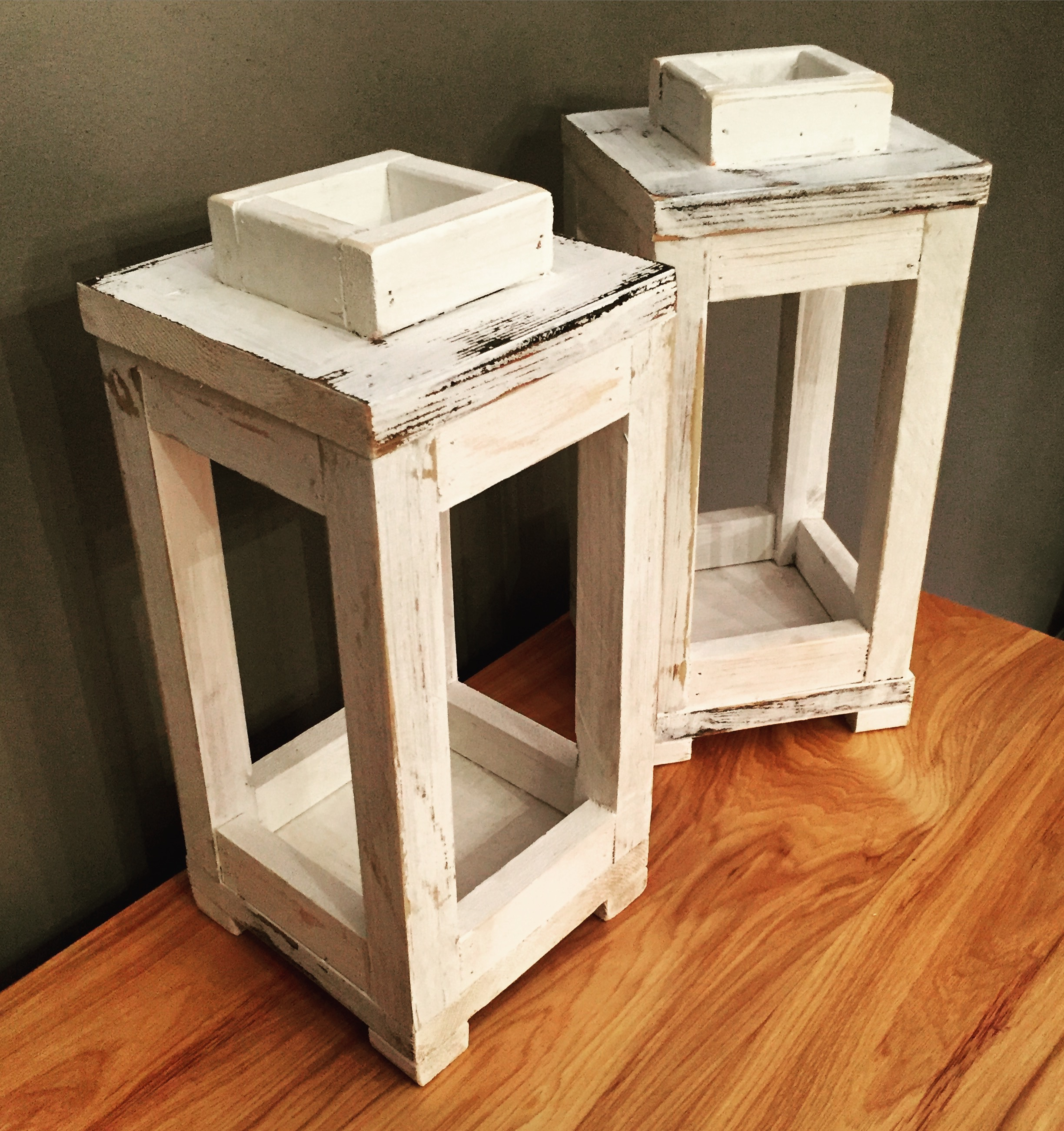 How To Make Wooden Lanterns With Scrap Wood Revival Woodworks