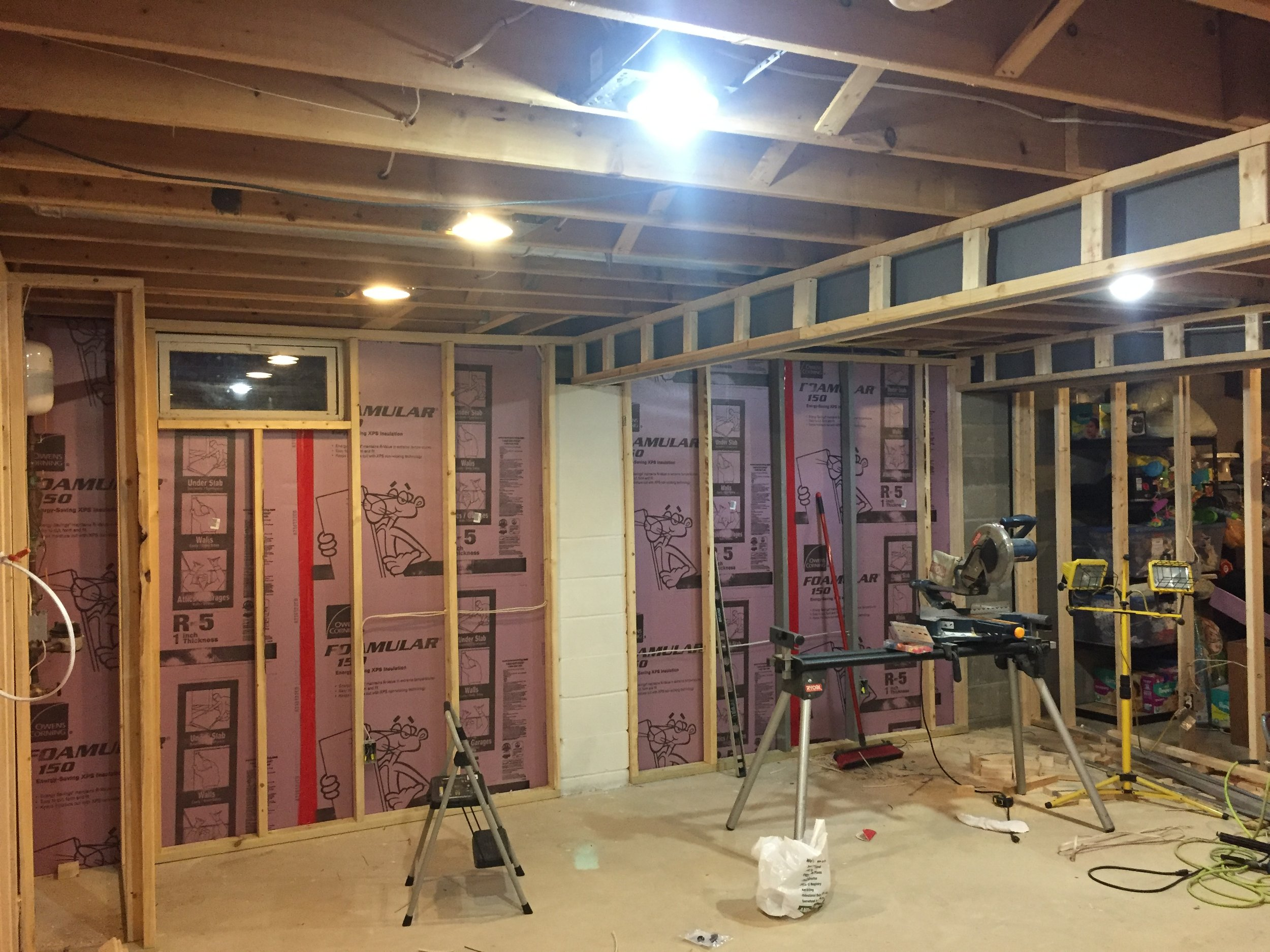 How To Finish A Basement On Budget Revival Woodworks