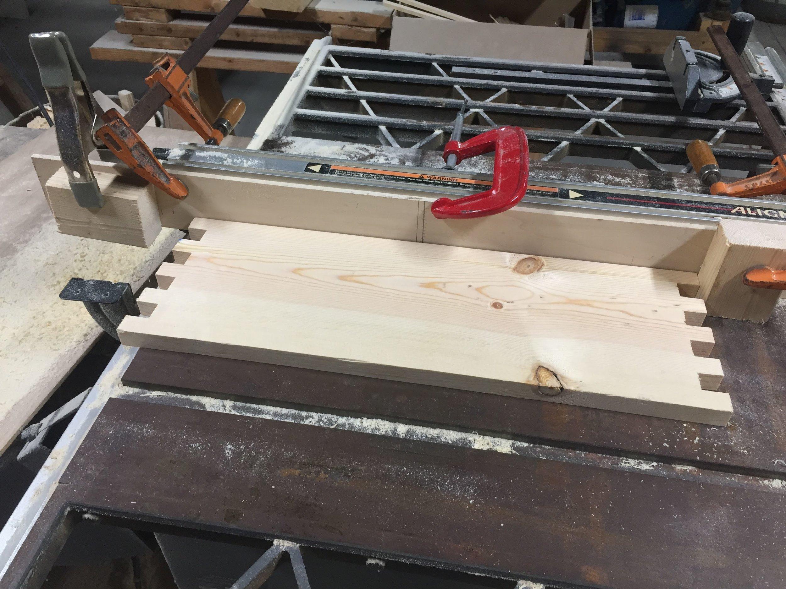 how to make beehive handles