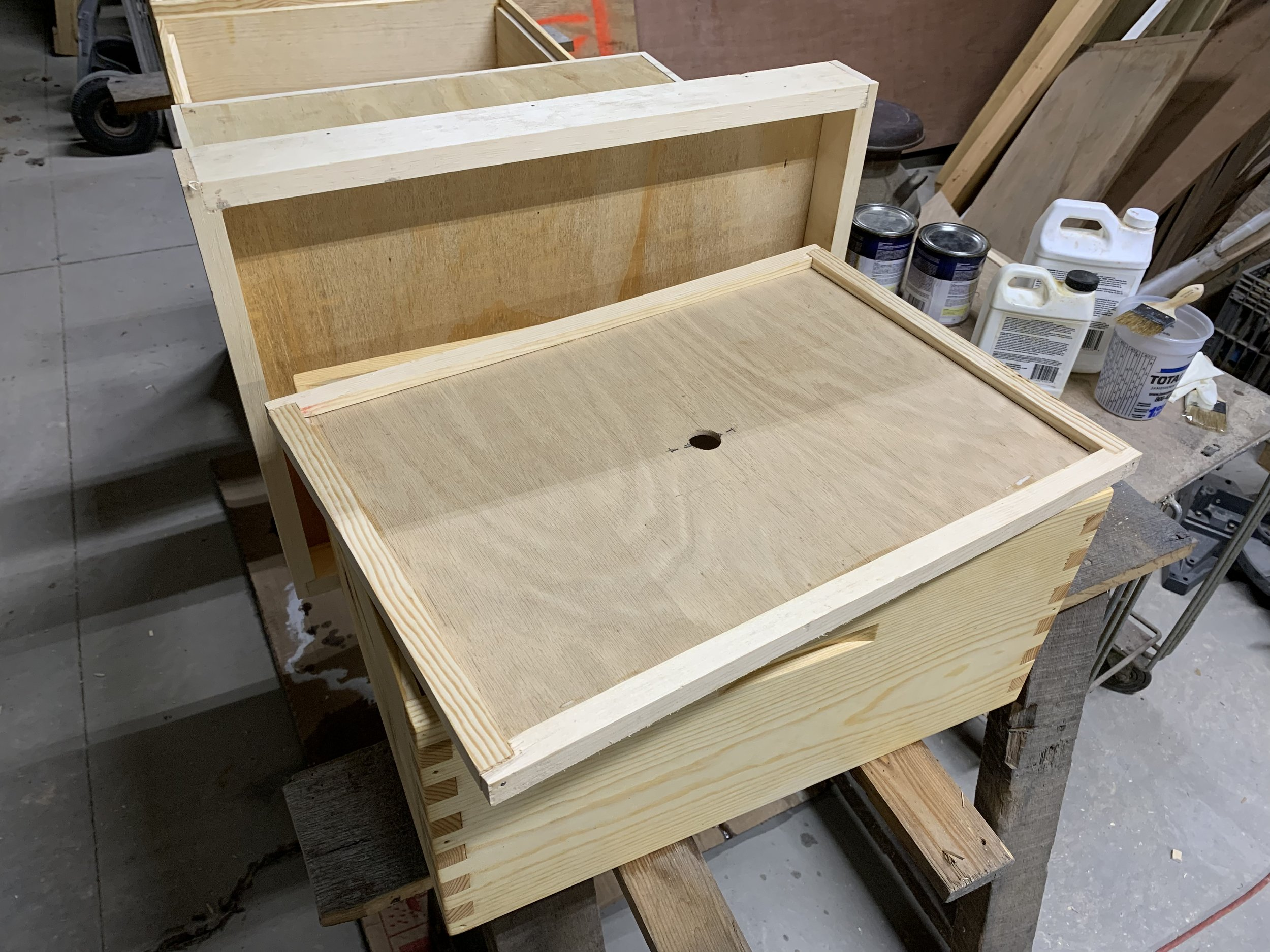 How to make an inner cover for a beehive