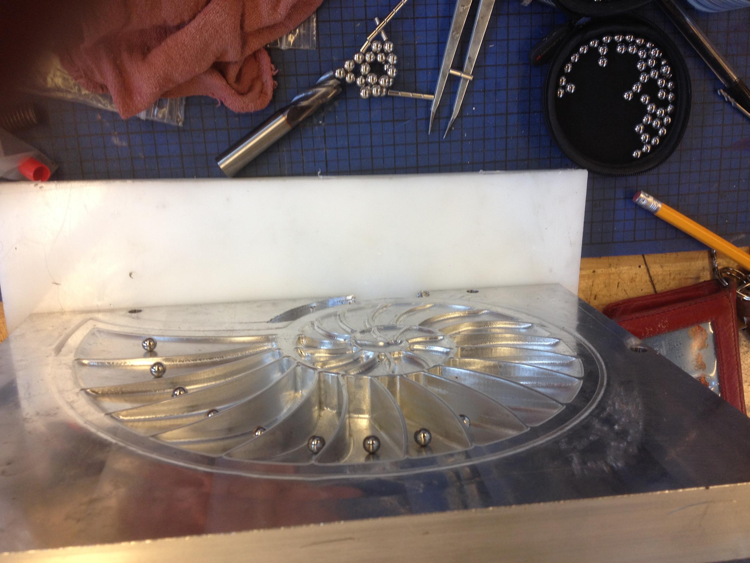 Testing Neodimium Magnets & Steel Balls Force Interaction