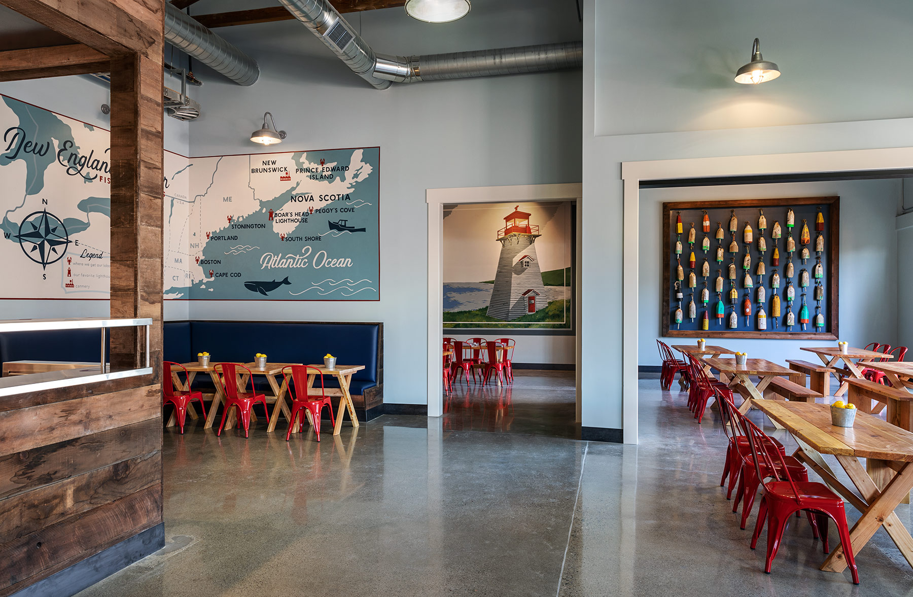 UMK Architecture  | New England Lobster Market & Eatery