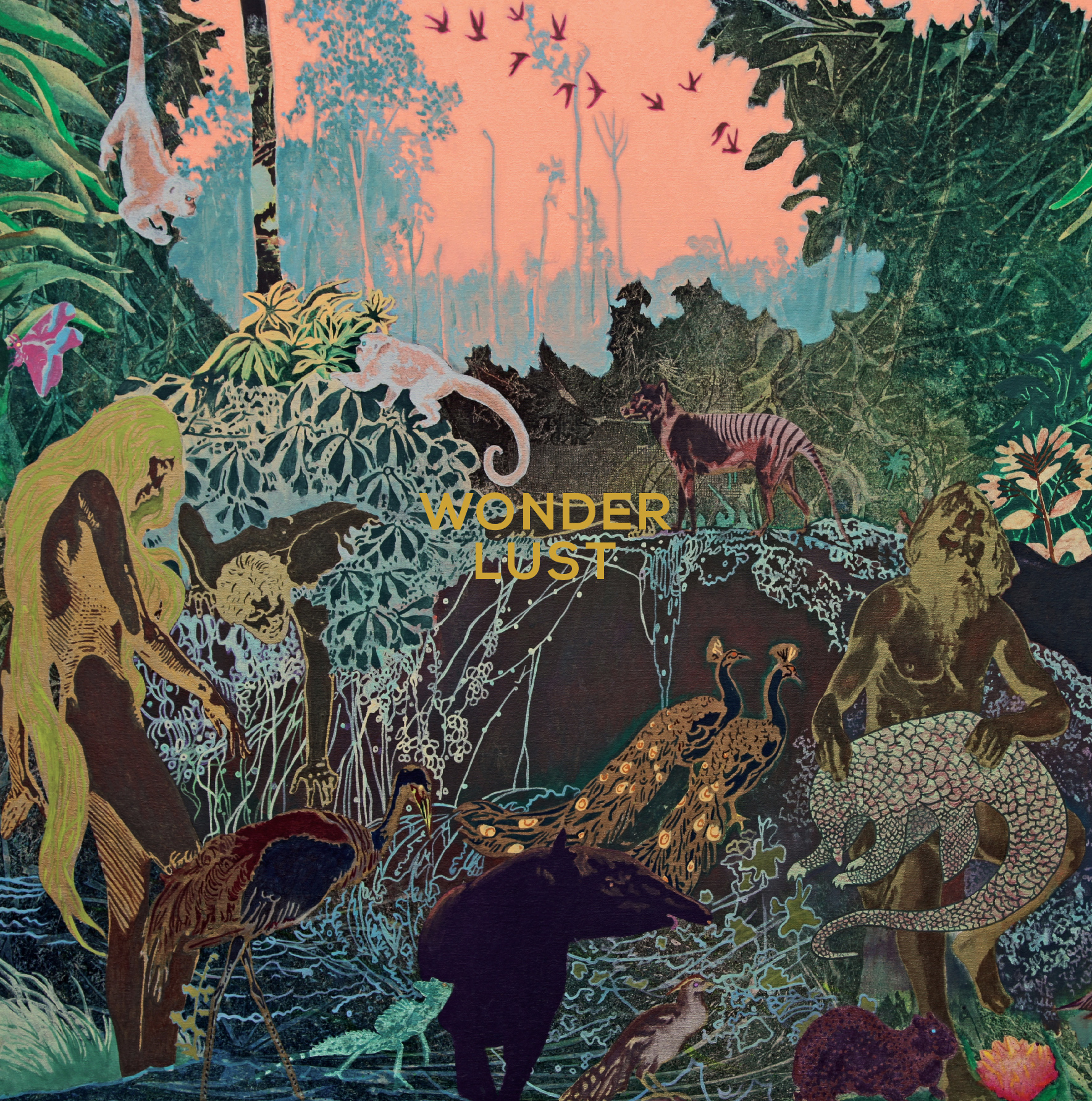 WONDER LUST - MORE SONGS ABOUT HEARTS, LIPS, KENTUCKY ON OHIO AND THE COMINGS AND GOINGS OF THE LUSTER, LORE AND LURE OF LOVE AND LUST.