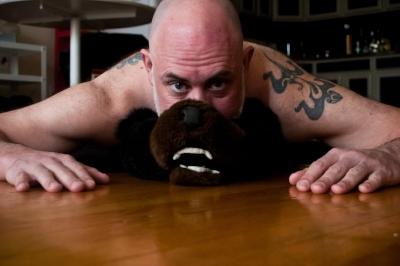 Bear on a Skin Rug_ Bare Men_Abigail Ekue Photography