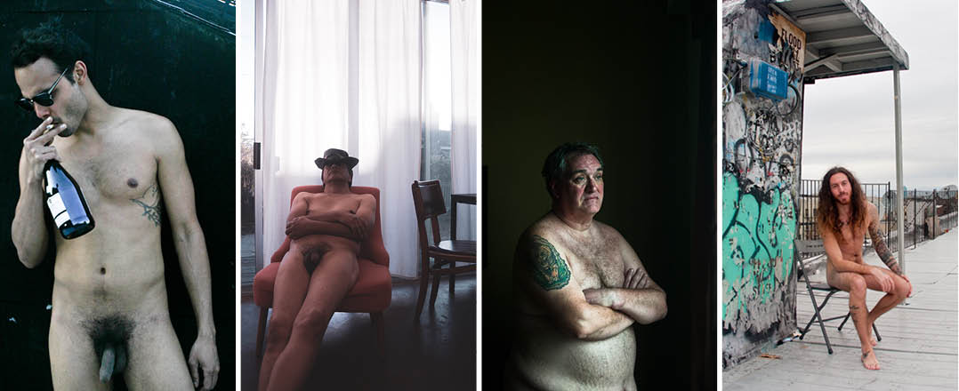 Selected images from  Bare Men, ©  Abigail Ekue Photography