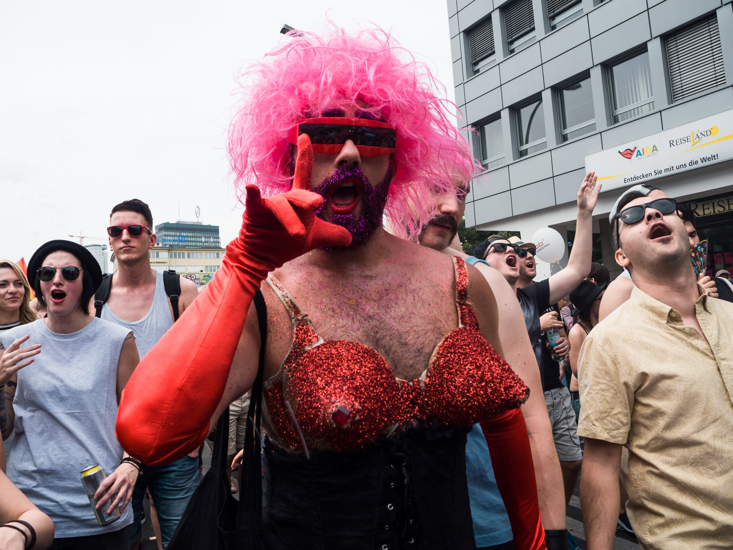 Christopher Street Day parade, Berlin, Germany