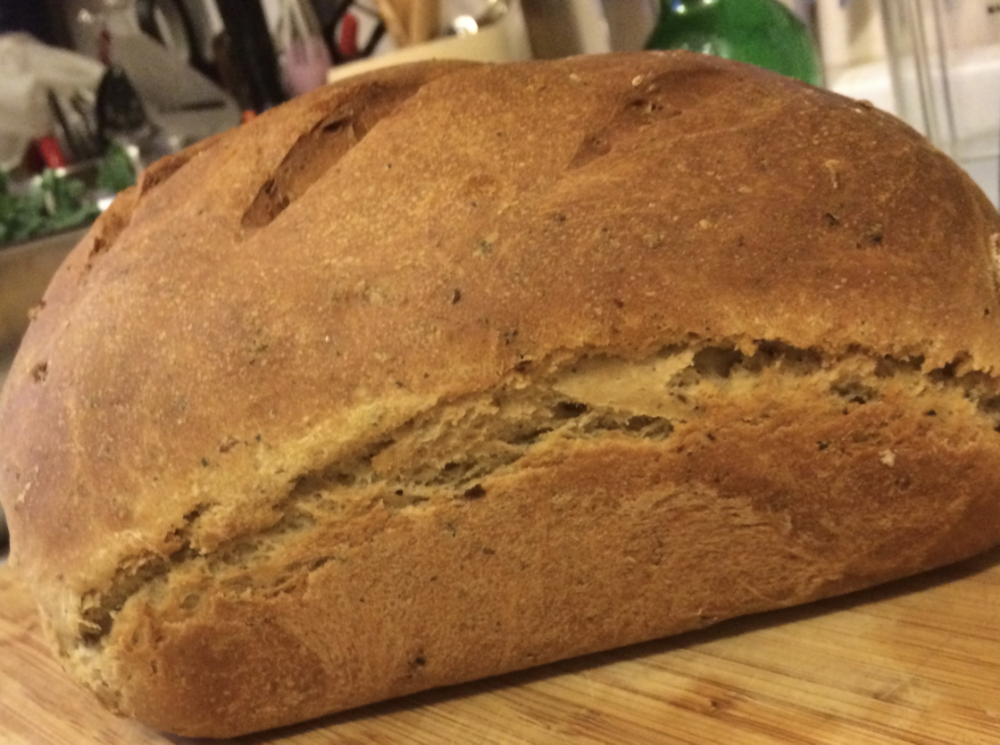 Sour Dough Bread, Irish Red Home Brew