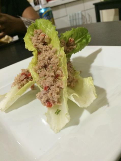 Thai Tuna Lettuce Wraps