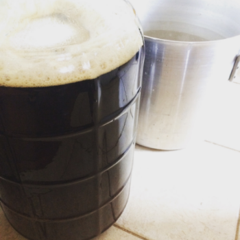 Brew day! Yeast is pitched and now I wait.