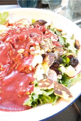 Sommelier Savory Summer Salad, Wine Pairing