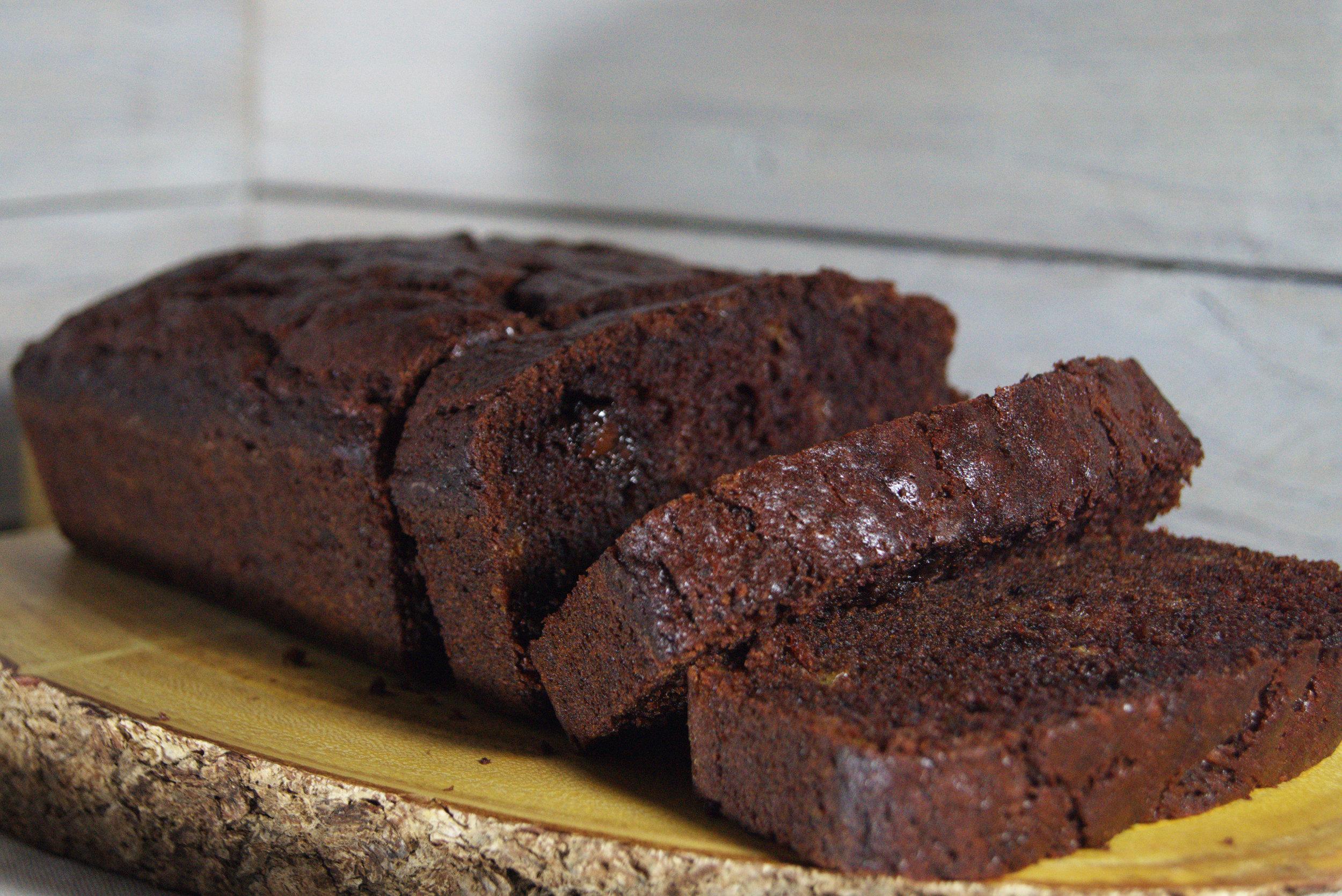 Double Chocolate Banana Bread