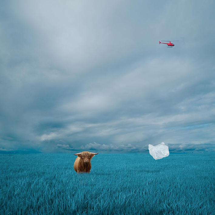 Adrift Blue