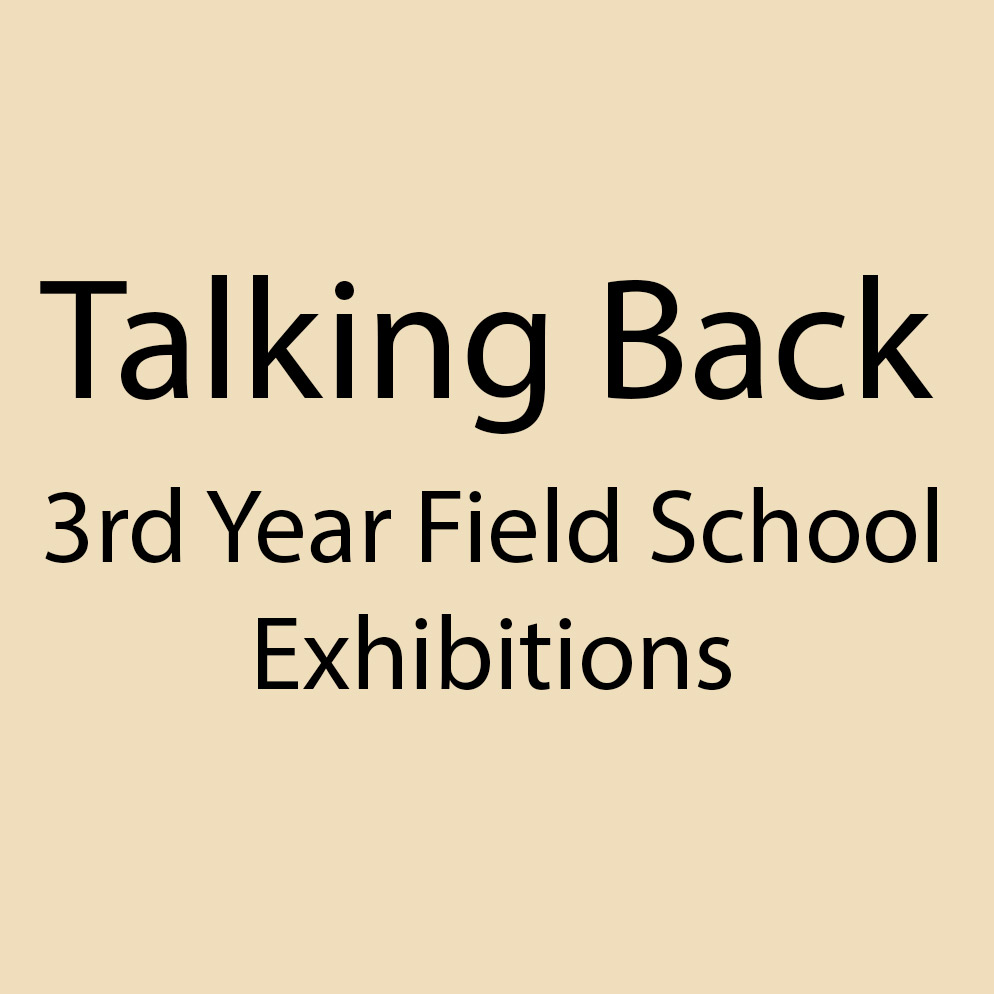 3rd year Field School
