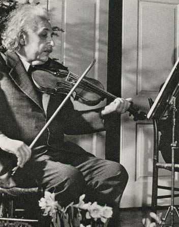 "Einstein once said that had he not been a scientist, he would have been a musician. ""Life without playing music is inconceivable for me,"" he declared. ""I live my daydreams in music. I see my life in terms of music. I get most joy in life out of music."""