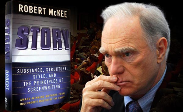 """Robert Mckee and his book """"STORY""""."""