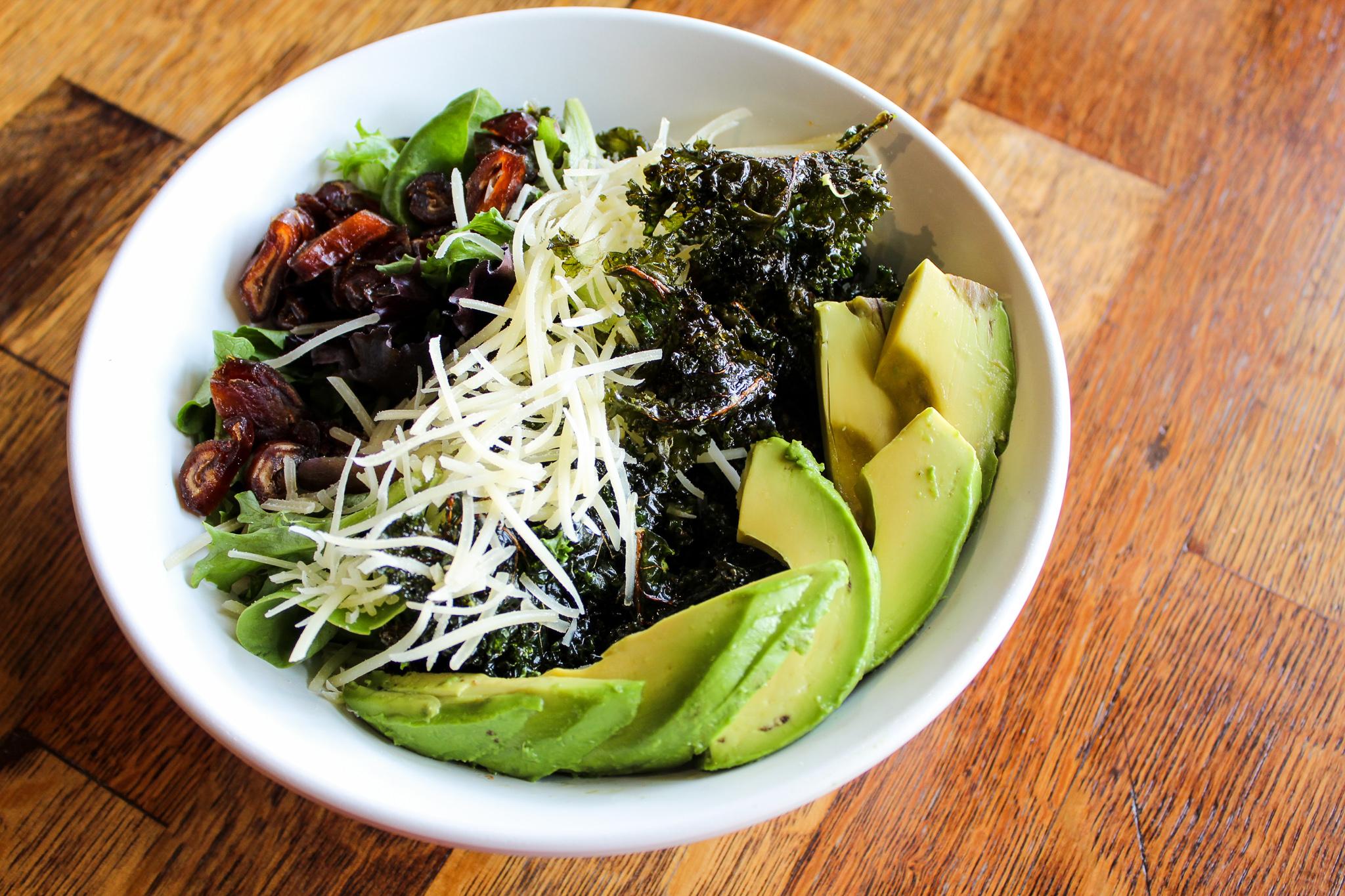 Krispy Kale Salad