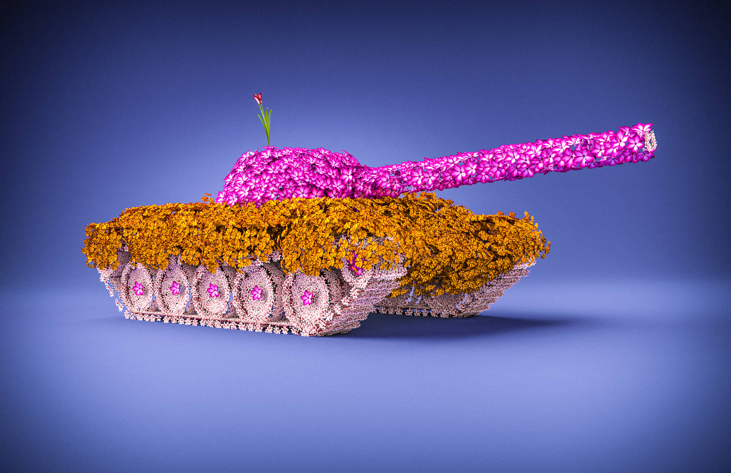 Tanks for the Flowers